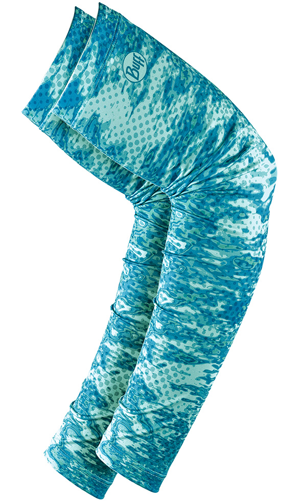 Ochranné rukávy Buff Original UV Arm Sleeves Pelagic Camo Tropical