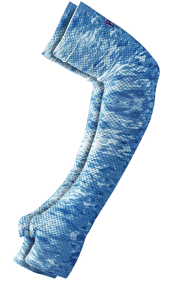 Ochranné rukávy Buff Original UV Coastal Arm Sleeves Pelagic Camo Blue