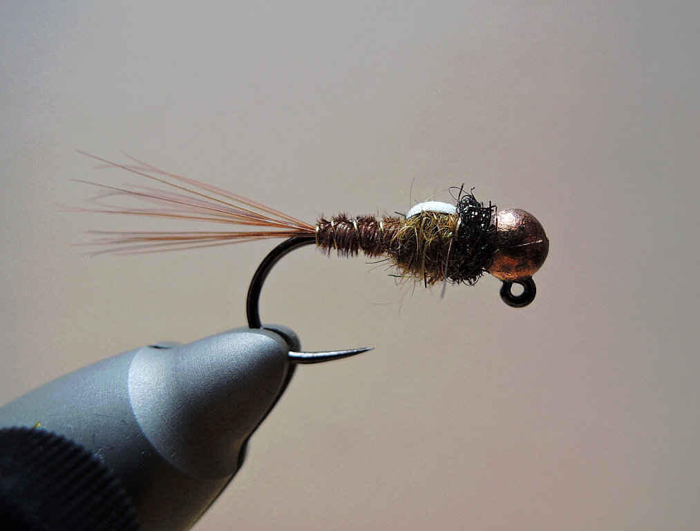 AR Natural Olive Pheasant Tail Nymph